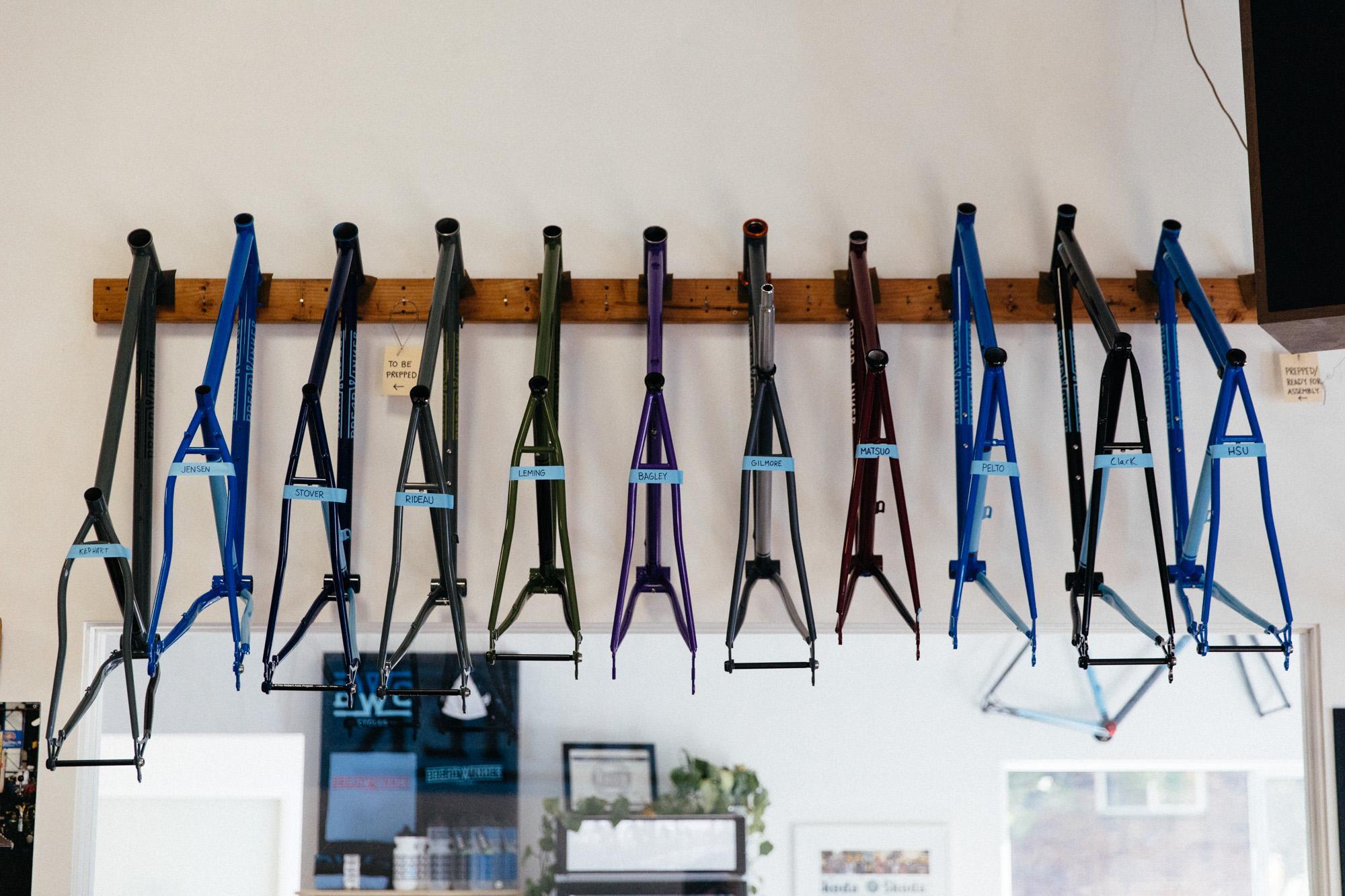 Customer bikes