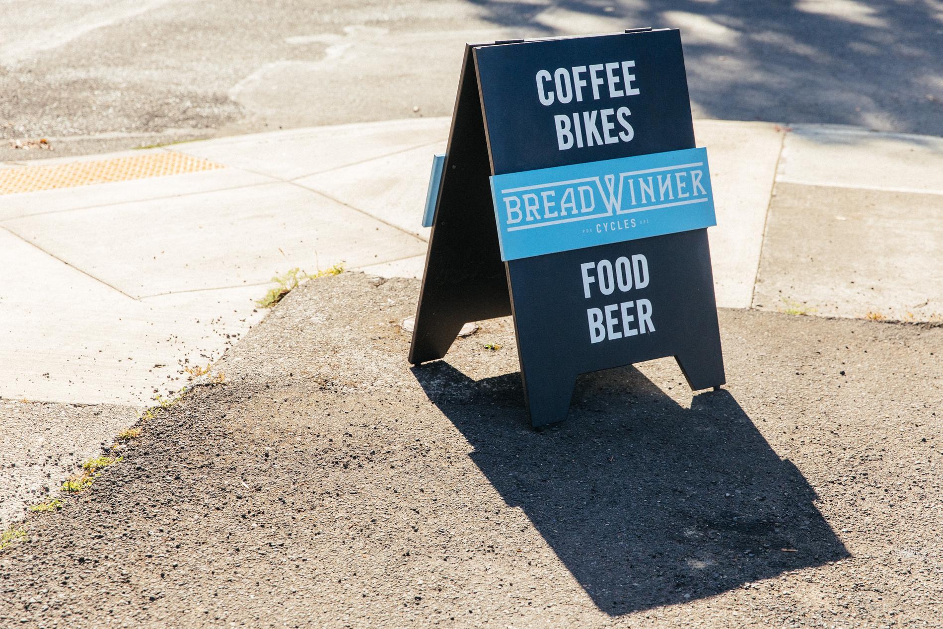 Coffee Bikes Food Beer