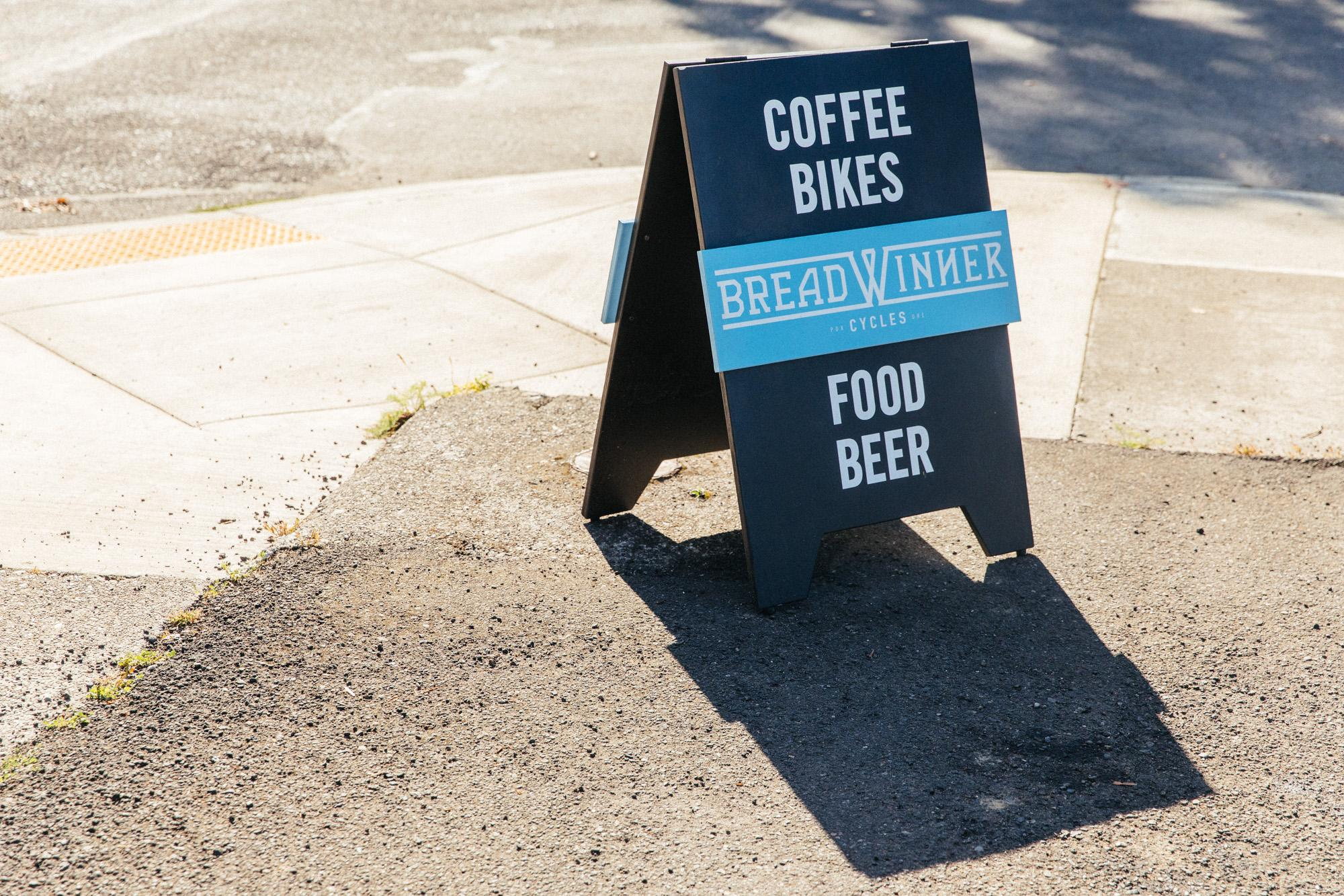 Coffee Bikes Food Beer