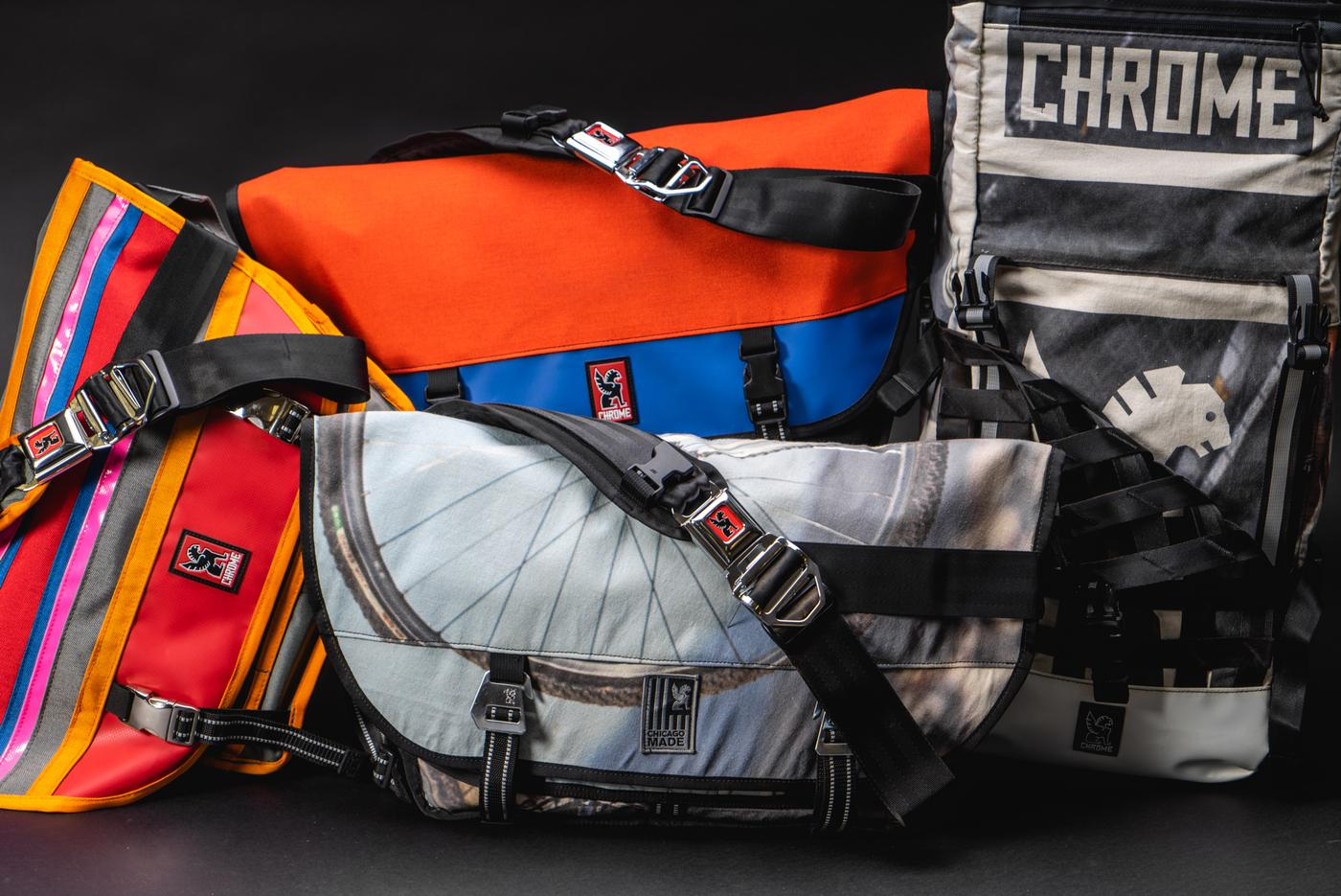 Win One of Four Custom Chrome Bags