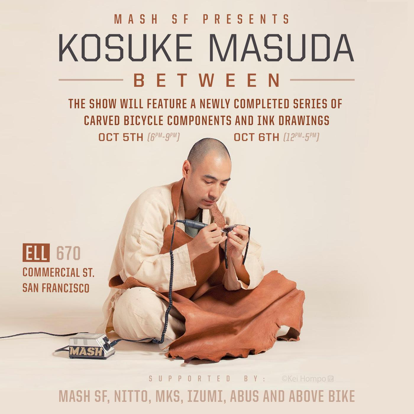 Kosuke Masuda: Between – Art Show in SF Presented by Mash