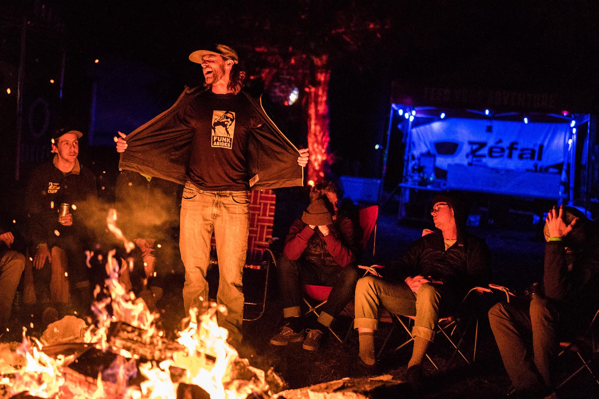 Campfire - Photo Dylan VanWeelden