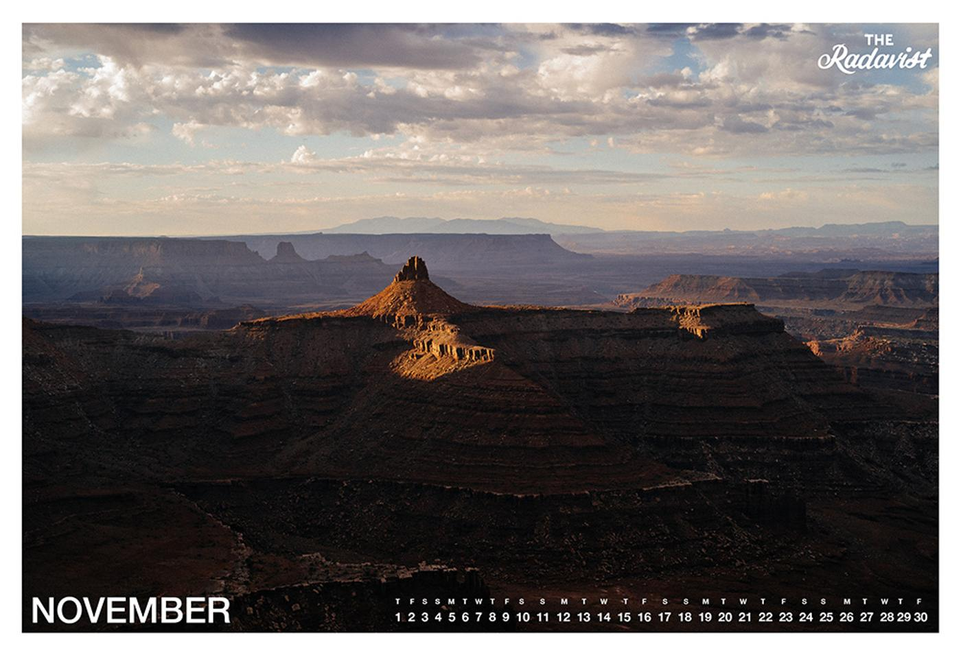 The Radavist 2018 Calendar: November