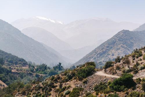 The (big) hills of Santiago