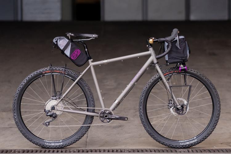 2018 Philly Bike Expo: Winter Bicycles S&S 27.5 Dirt Tourer – Jarrod Bunk