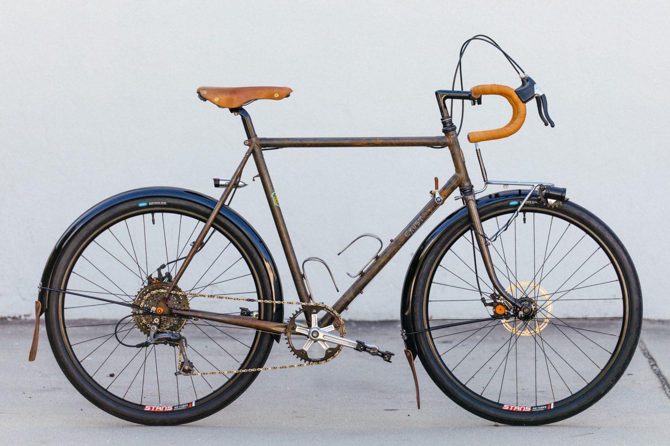 Scott's Stripped and Raw Crust Bikes Romanceur