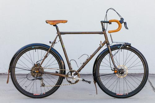 Scott's Stripped and Raw Crust Bikes Romanceur
