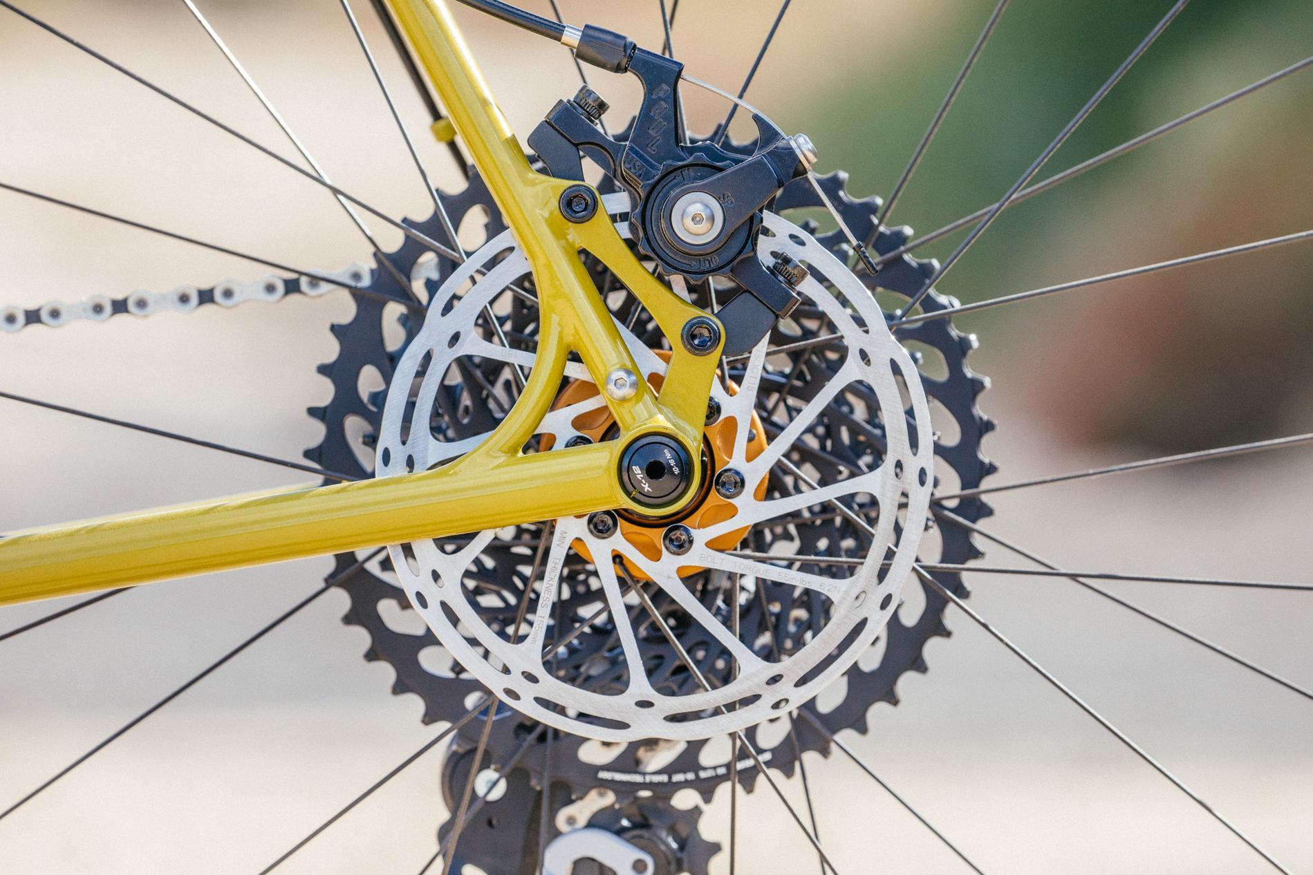 My Crust Bikes Dreamer is An All Road Light Tourer