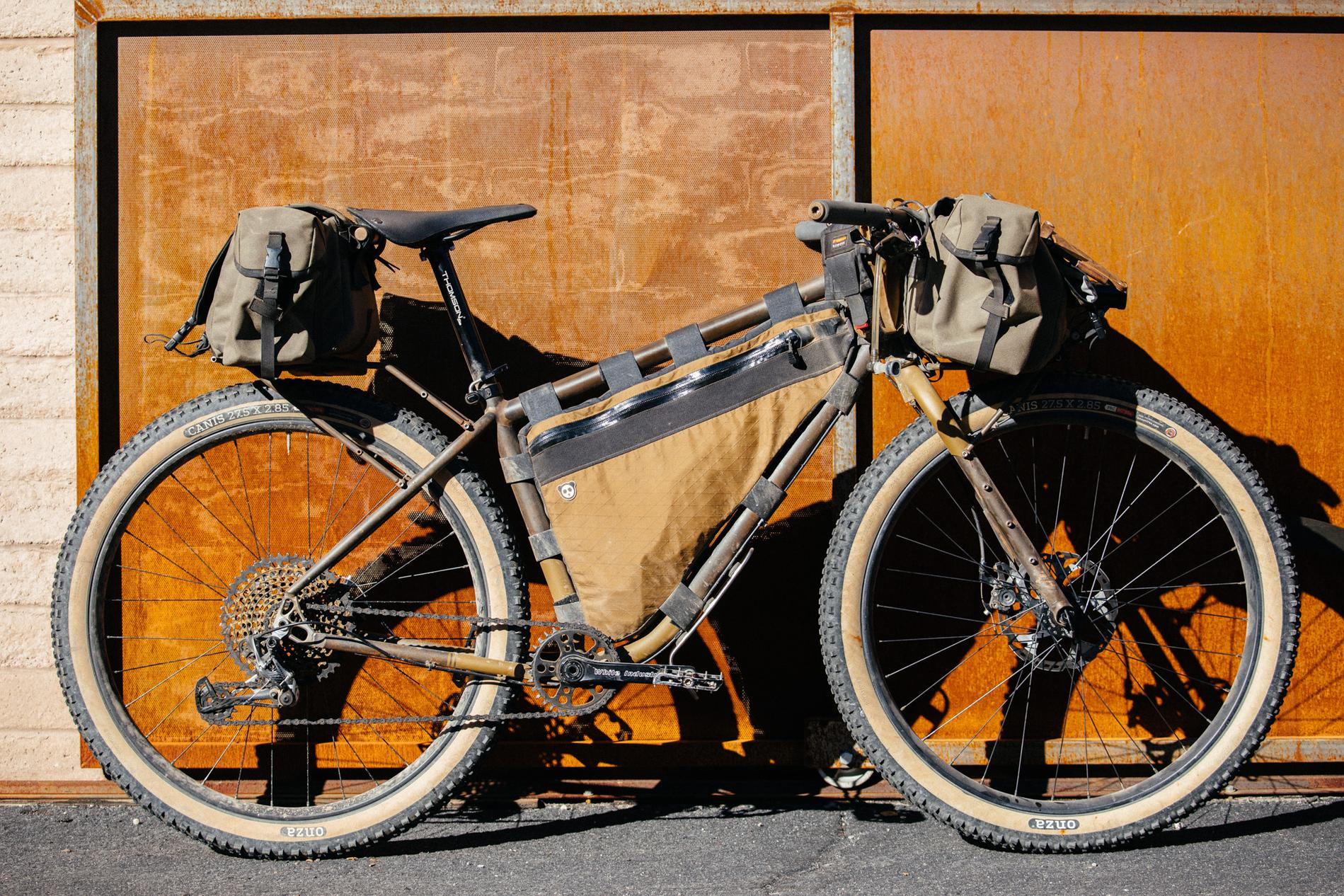 Hubert's Madrean Dirt Tourer Prototype