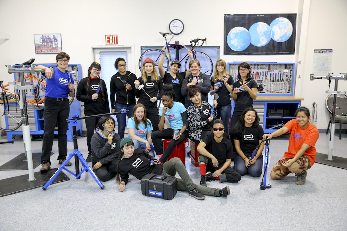 QBP's  2019 Women's Bike Mechanic Scholarship Recipients