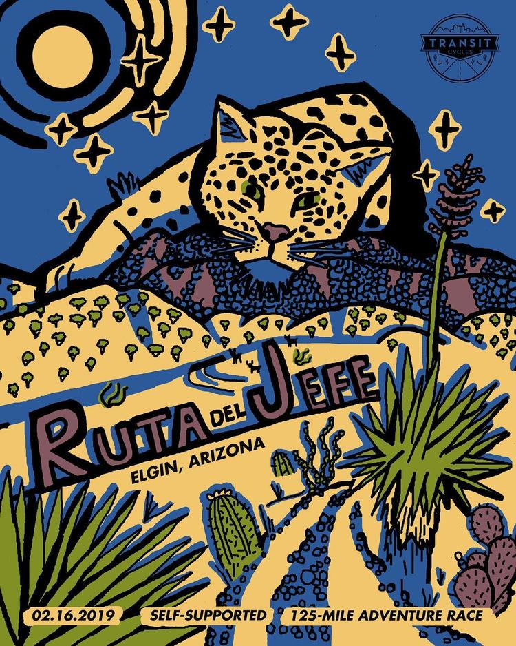 Registration is Tomorrow at 9am! Ruta del Jefe Race in Elgin, Arizona on February 16th
