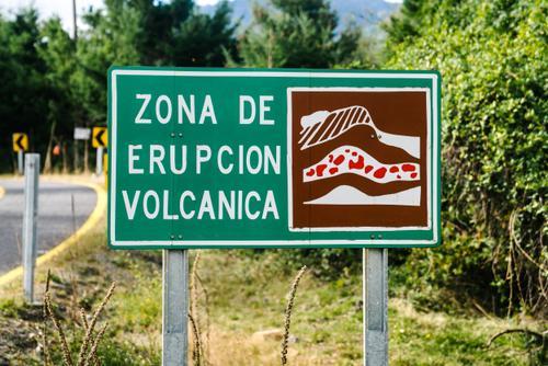 Eruption zone