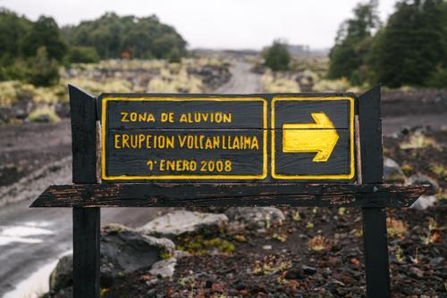 2008 eruption zone