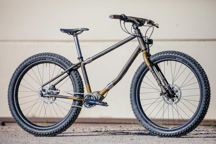 Sarah's Madrean Pinion Gearbox S&S Dirt Tourer