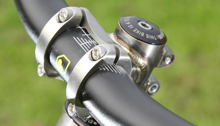 Kingdom Bike: Ti-Ronin Stem