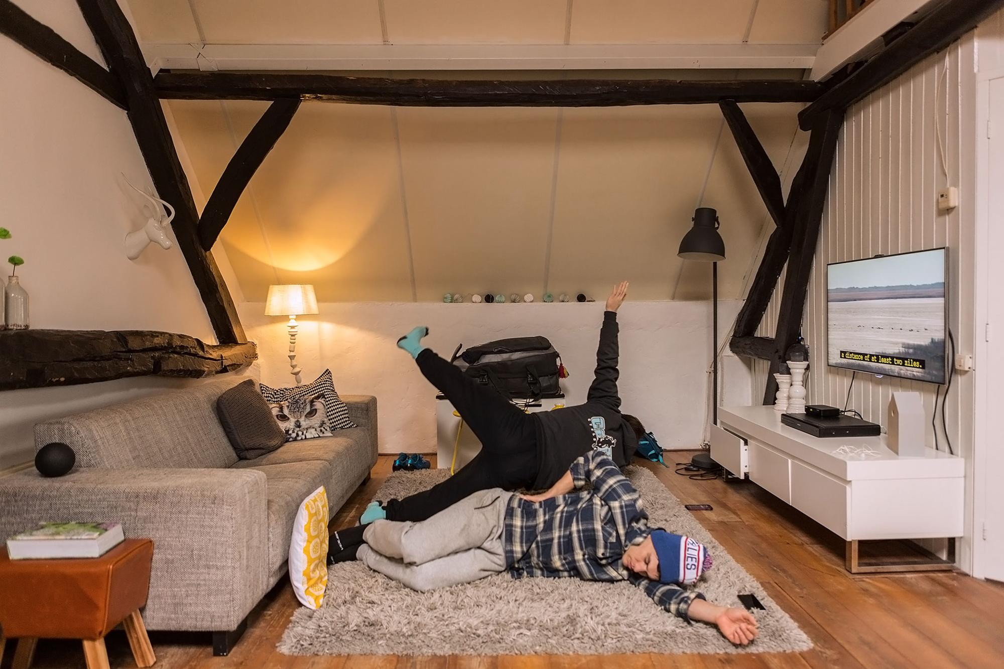 Get Down Time in the Old Dutch Farmhouse