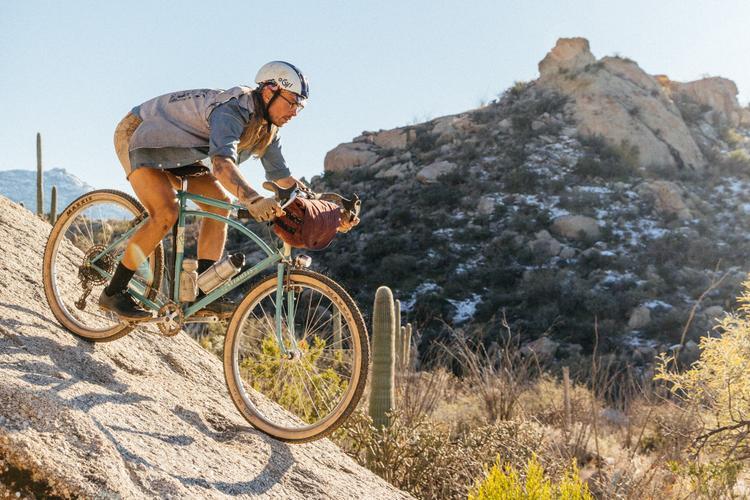 Ultra Romance and His Rivendell Atlantis Mountain Bike