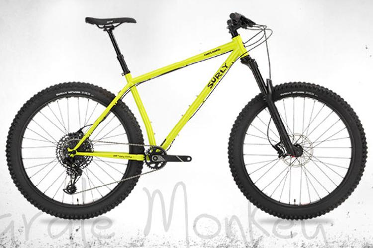 Surly's Karate Monkey is Kickin' Ass with Suspension on 27.5+
