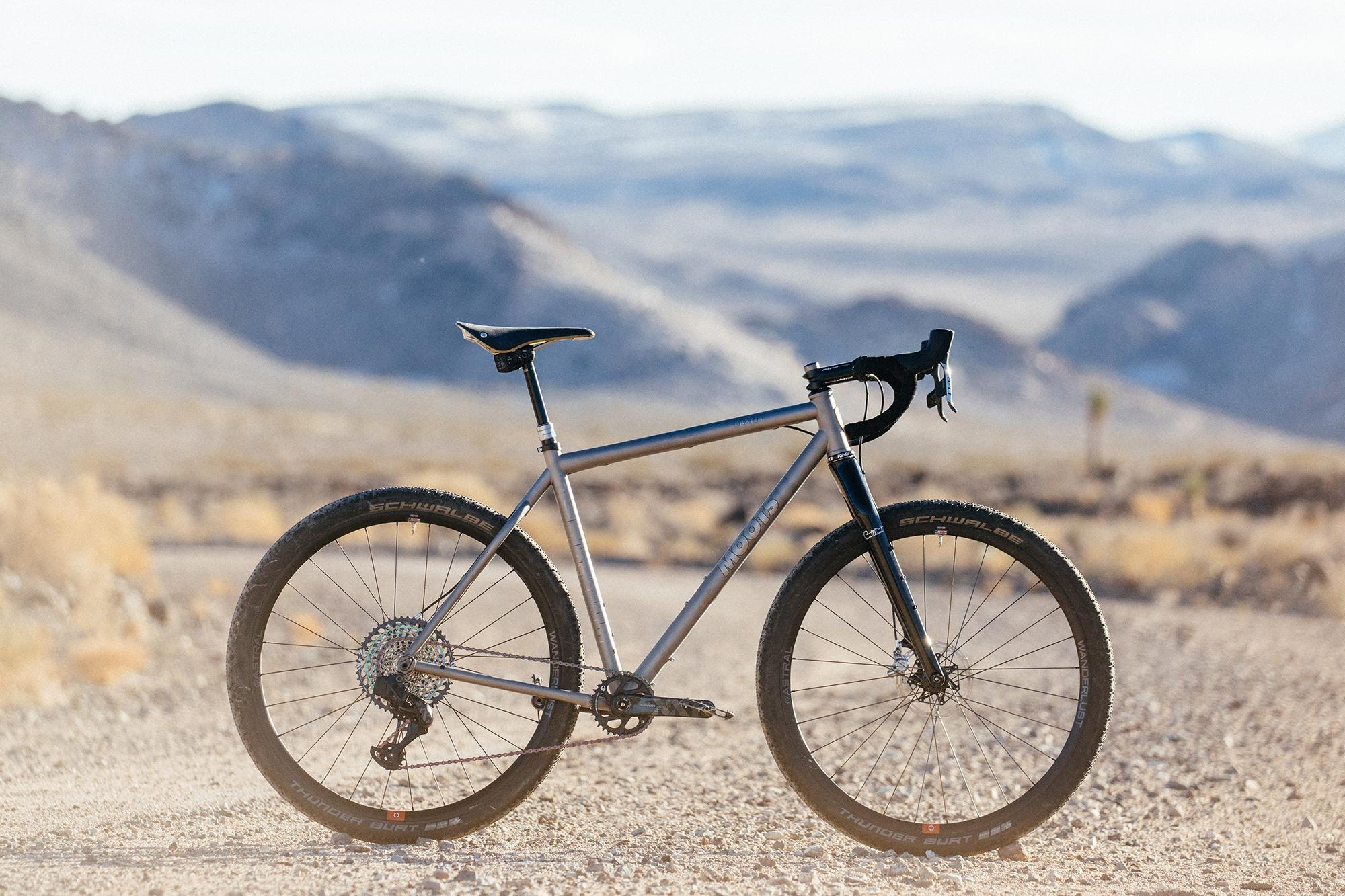 Cerro Gordo Excursion: A SRAM AXS Equipped Moots Baxter