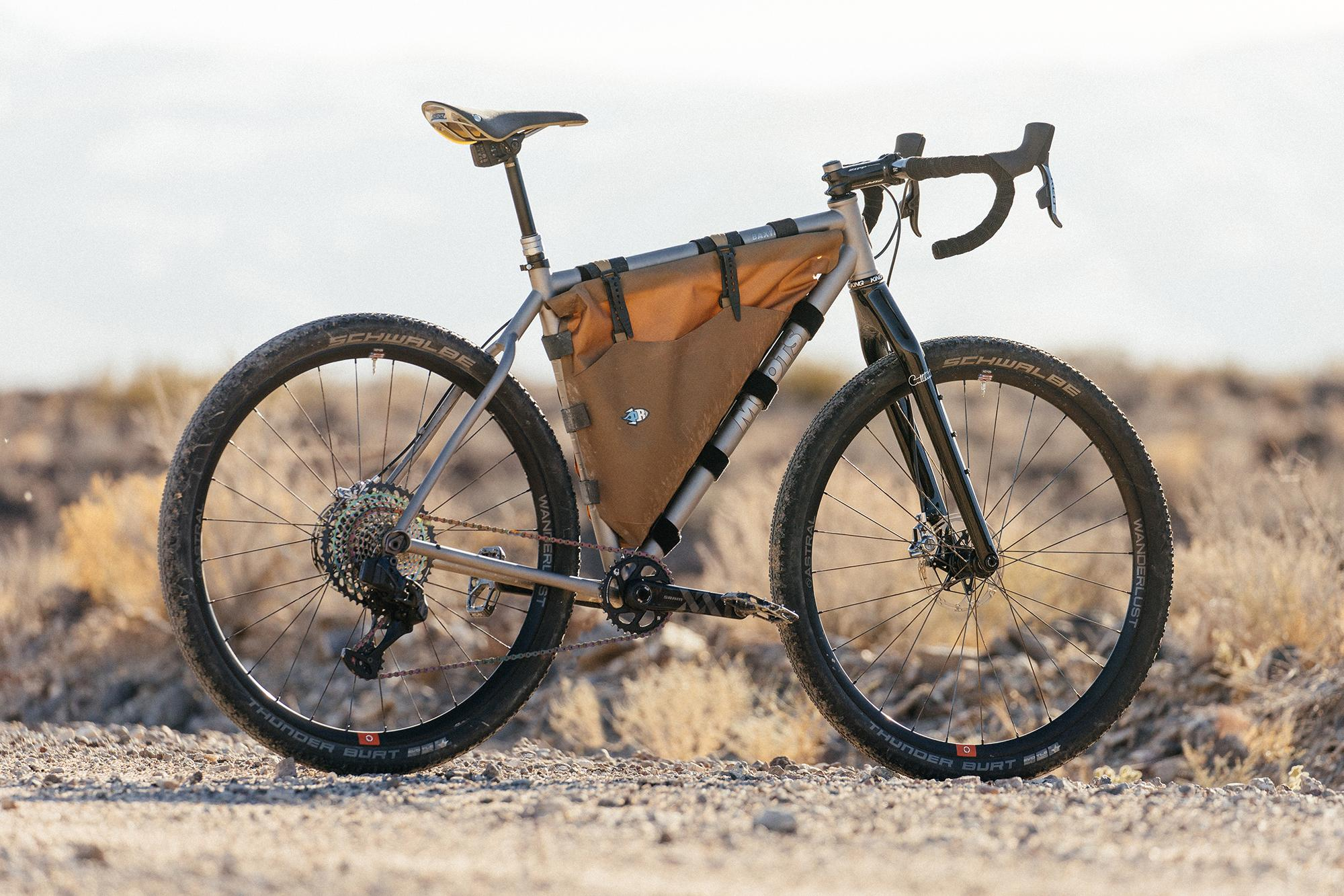 Disconnecting with a SRAM AXS Equipped Moots Baxter – John