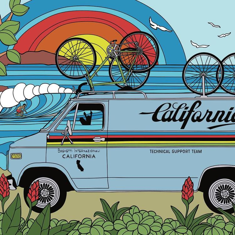 Inspired by the Amgen Tour of California