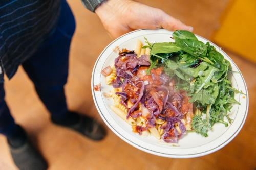 Benedict's cuisine. Paleo, vegan diet.