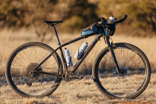Rider setup - Lael's bike