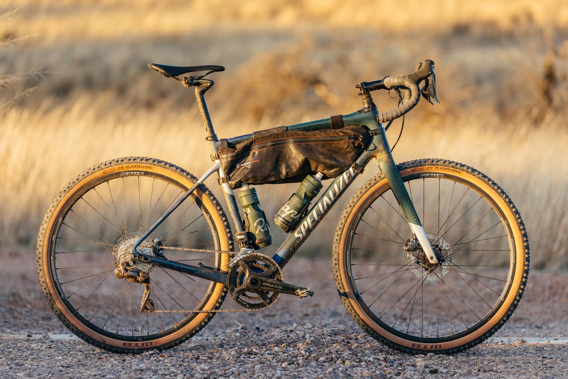 Rider setup - Adam's bike