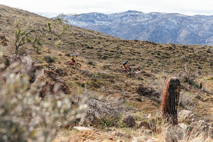 Riding Salsa's New Split Pivot Mountain Bikes on the Black Canyon Trail