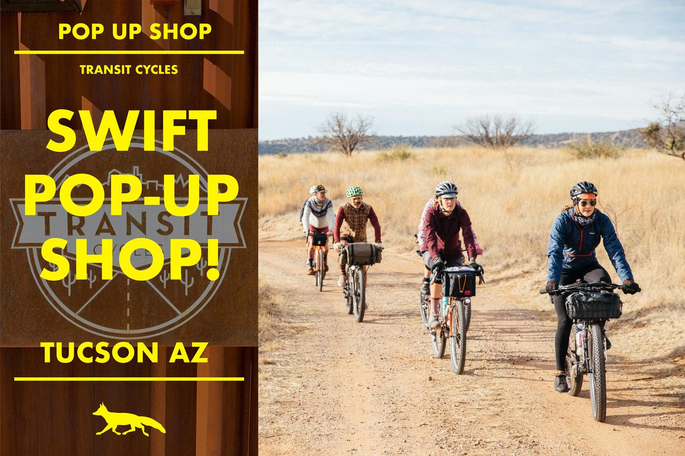 Swift Industries Pop Up at Transit Cycles Tonight!