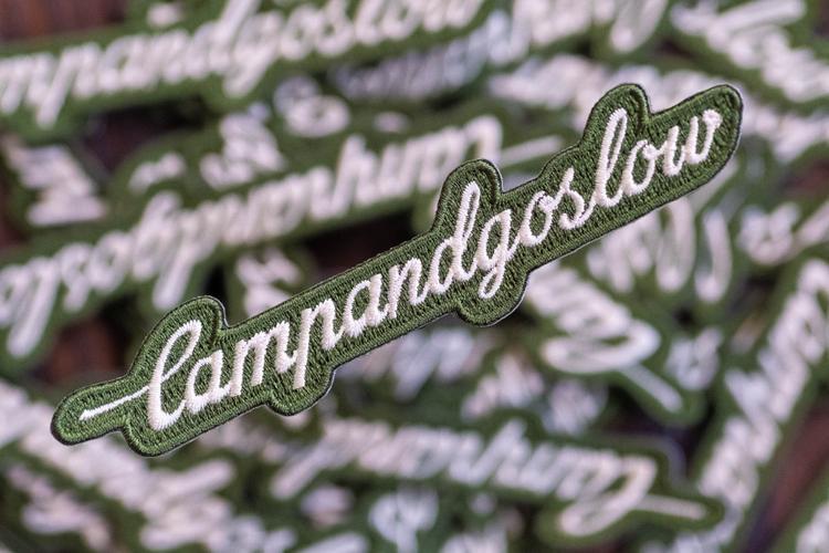 Campandgoslow's Webstore is Stocked