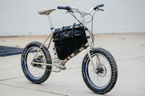 Isao's Falconer Mini Velo Got the Baja Bug Treatment