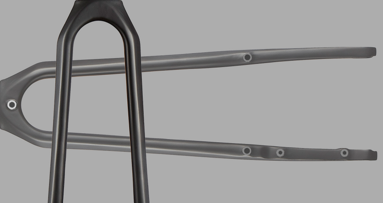 No. 22 Launch No. 6 Composites Forks Including a 700x45mm Clearance All Road