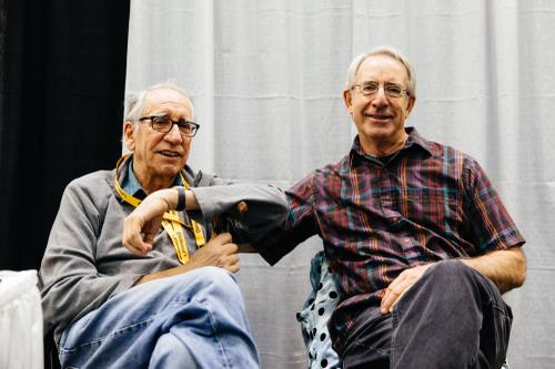 Bruce Gordon and Joe Bell