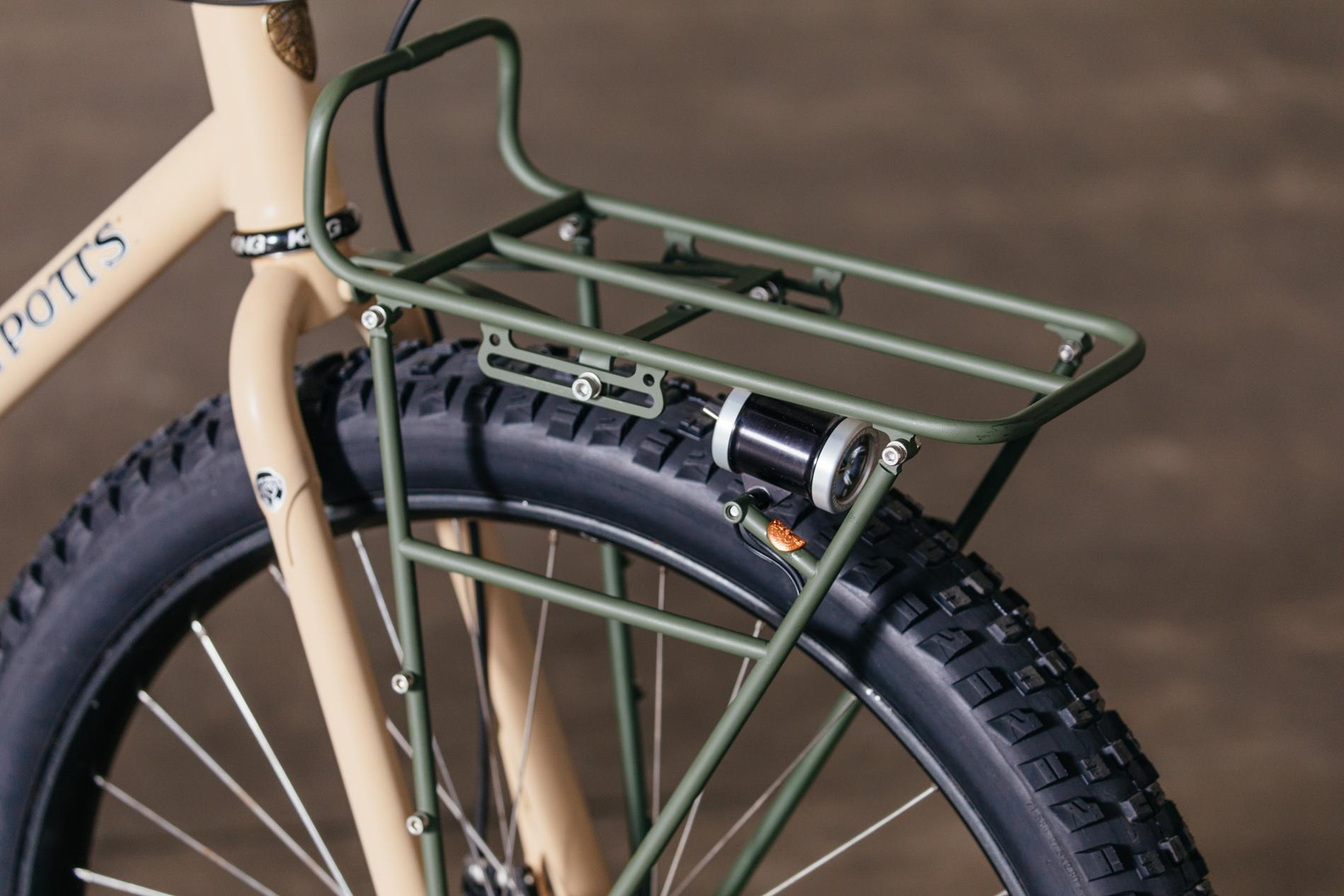 Monkey Wrench and Steve Potts Trail Tourer with Pass and Stow Racks