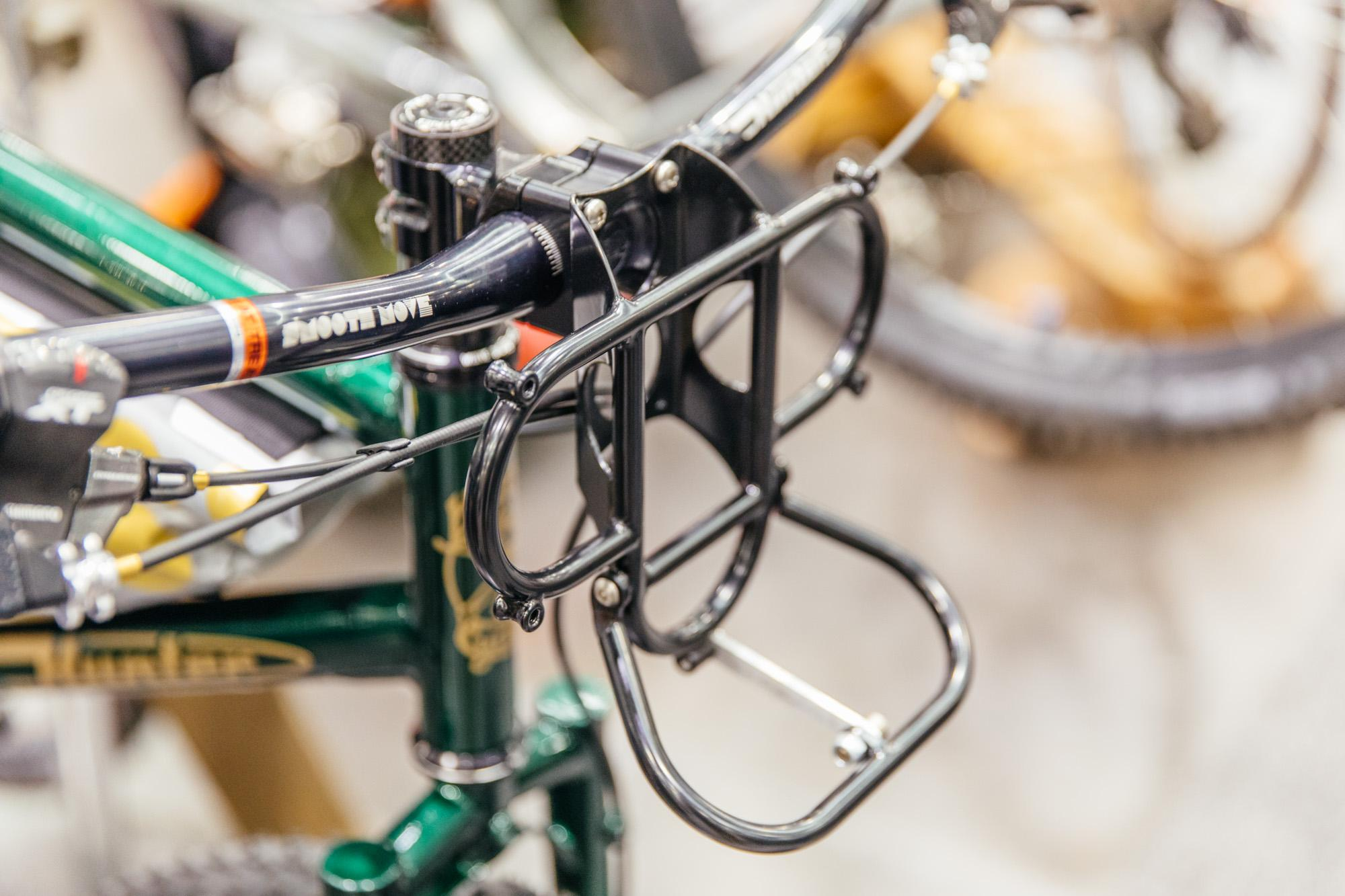 Hunter Cycles and Paul stem-mounted mini rack.