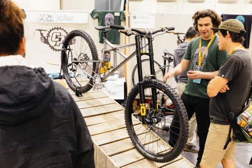 These engineering students built a DH MTB!