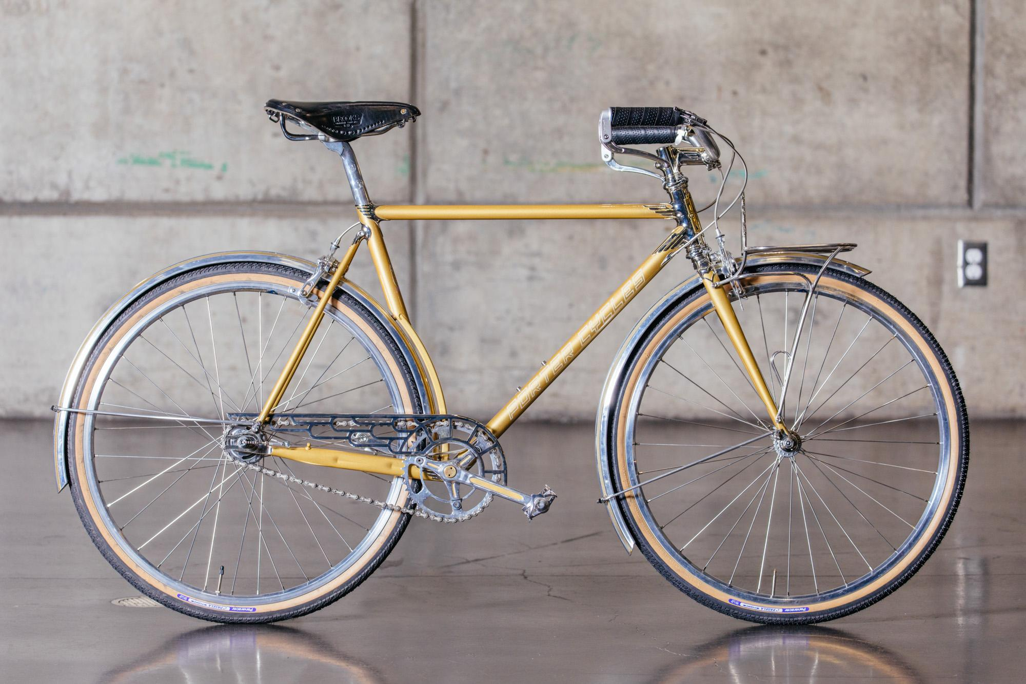 NAHBS 2019: Porter Cycles Art Deco Townie