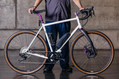 Doug White and his Inglis Cycles e-Commuter