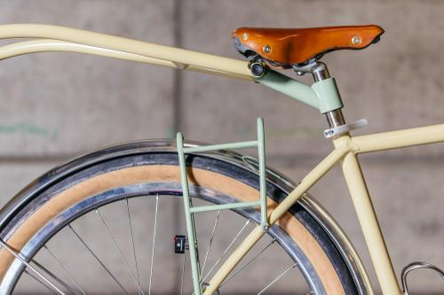 Frances Cycles Randonneur and Farfarer Trailer