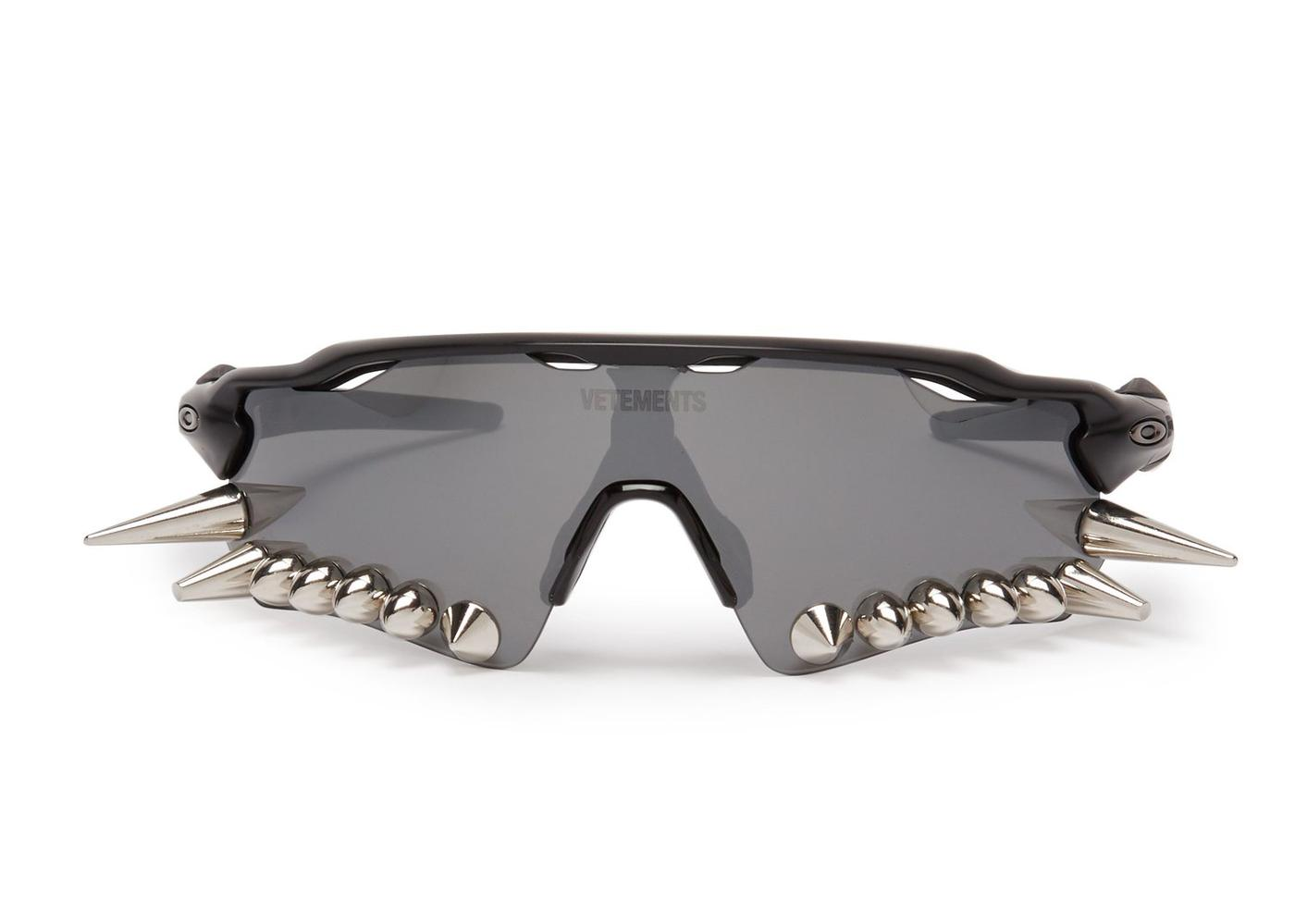 Intimidation on the Road with the Vetements Oakley Sunglasses