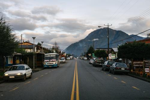 Coñaripe streets