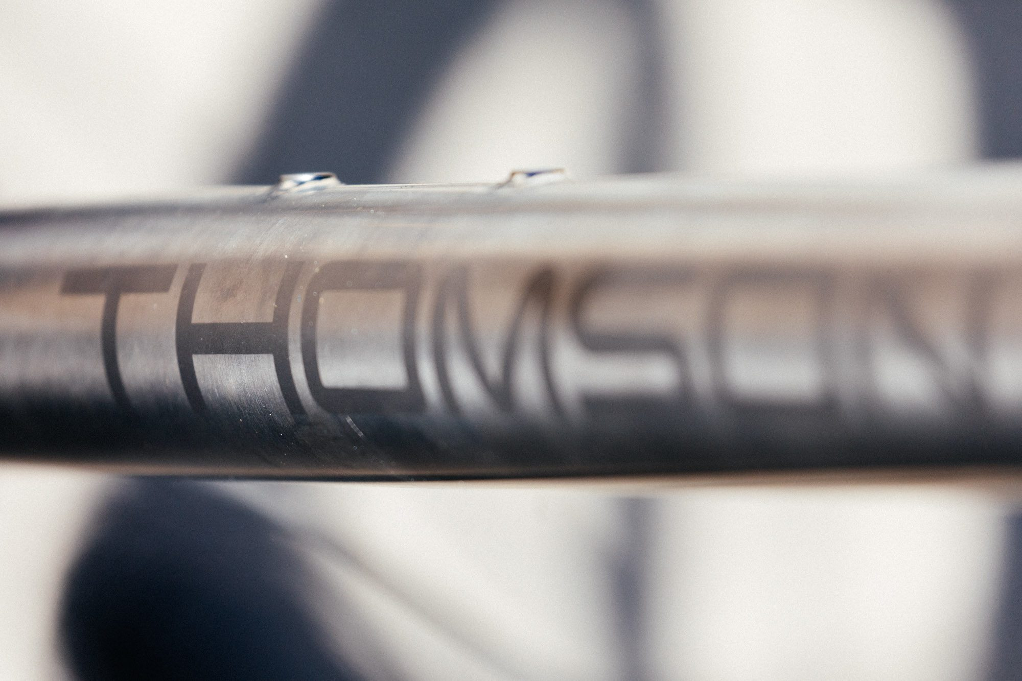 A First Look at Thomson's New Titanium All Road Bike and New Titanium Seatpost