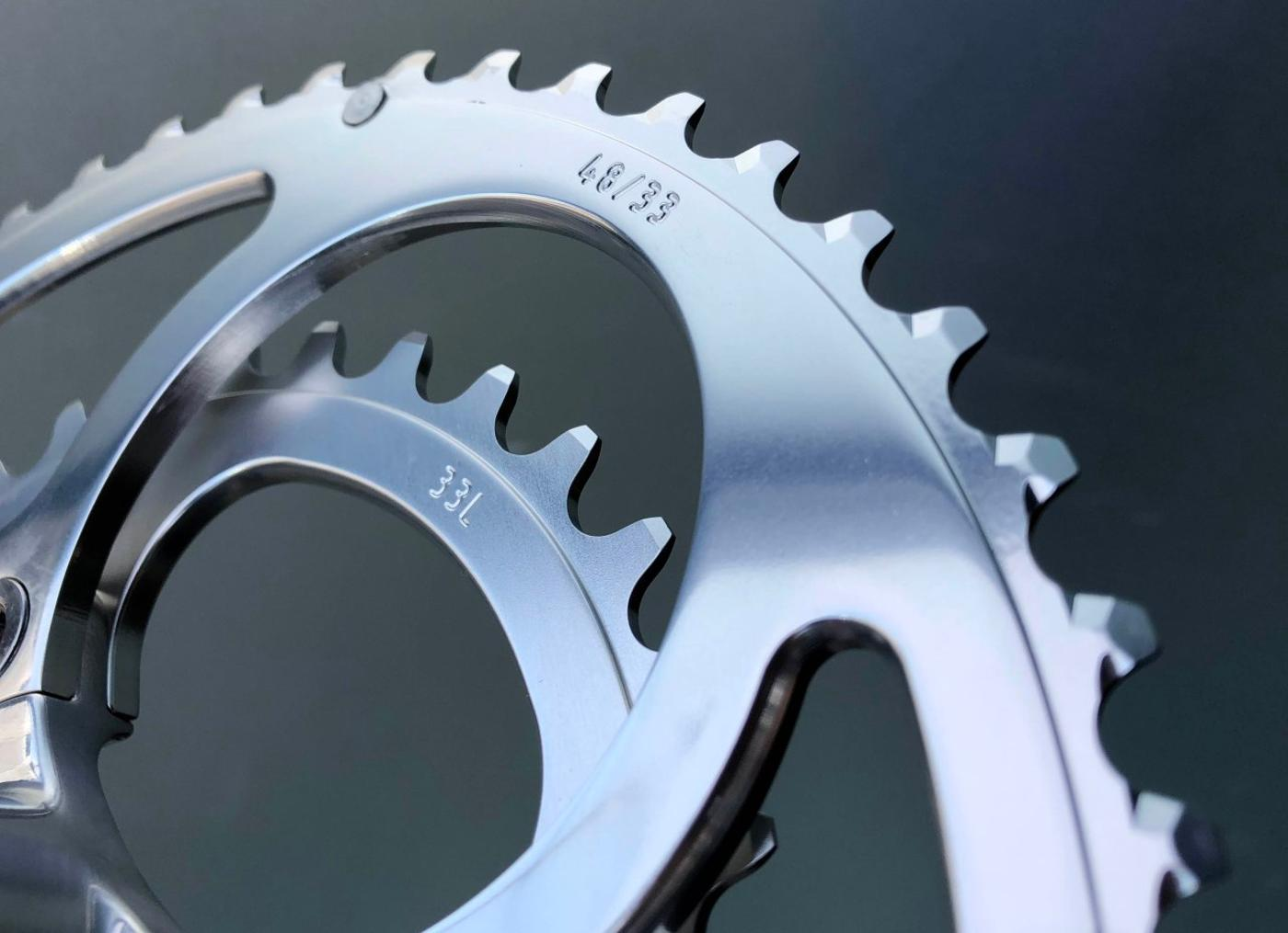 48/33 is the Magic Gear for Rene Herse Cranks