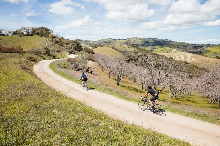 Riding on Fumes at the Nova Course During the Eroica California 2019