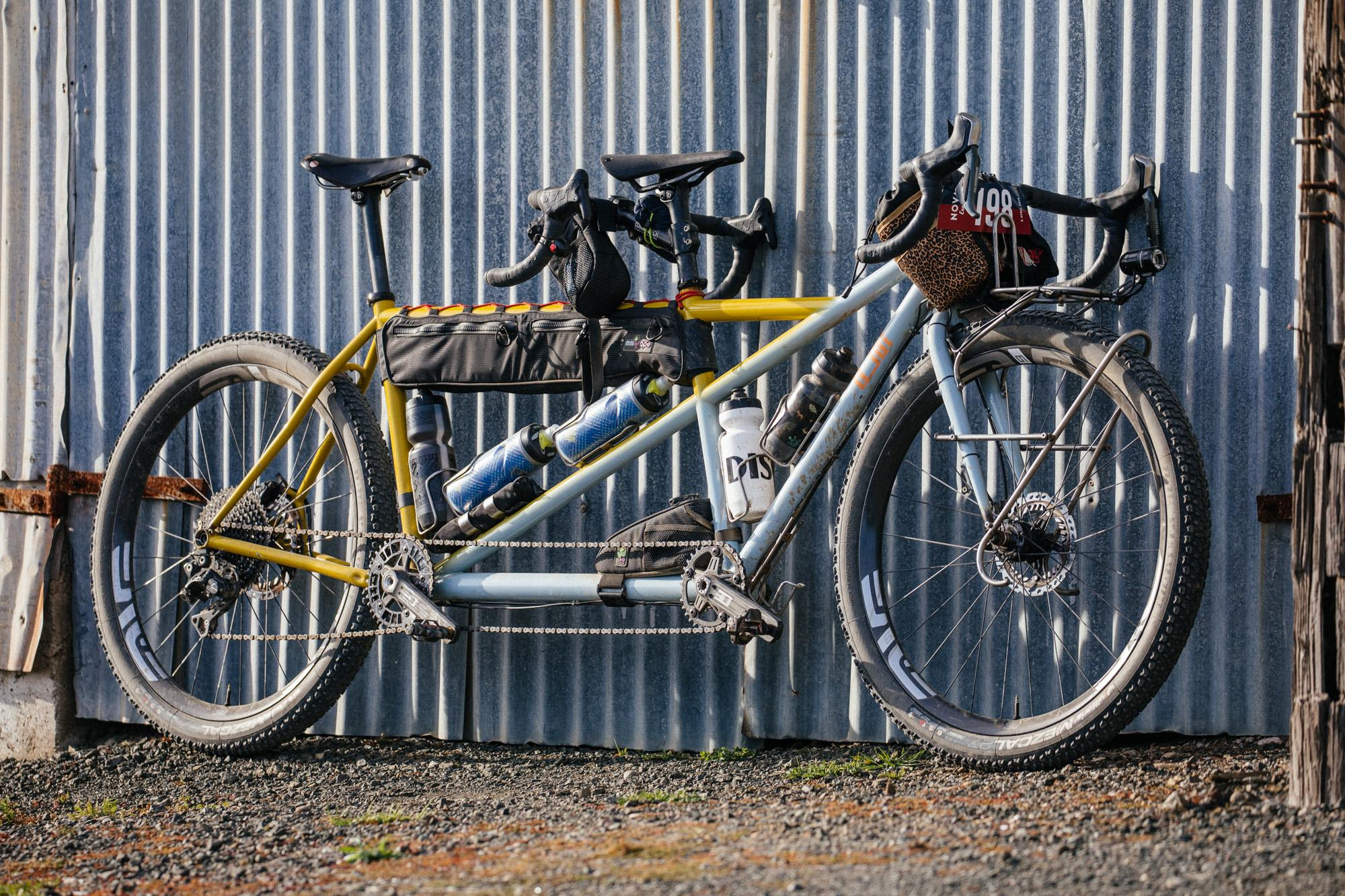 What a Beautiful Beast: the Legor Cycli MTB Touring Tandem