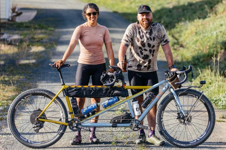 A Beautiful Beast: Bruno the Legor Cycli MTB Touring Tandem