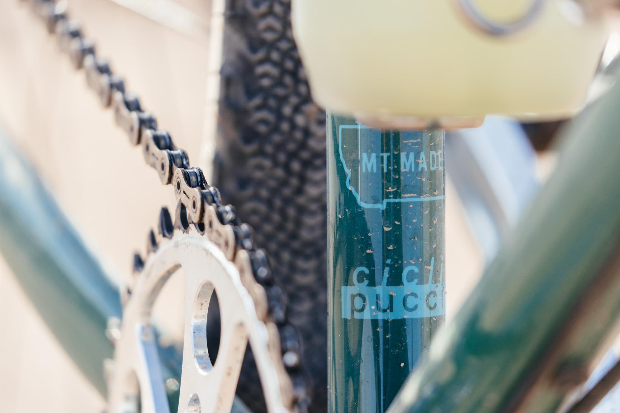 Mason's Pucci Cicli Painted Sklar All Road