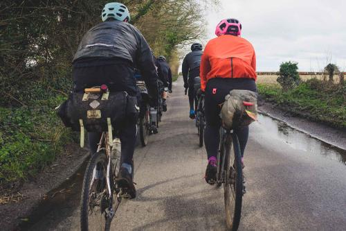 Touring the Route Beer with Pannier in the English Countryside