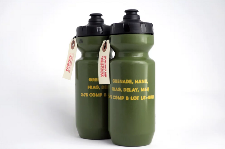 Grenade Bottles by Swizmade